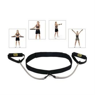 Everlast for Her Pilates Exercising Waist Belt with Resistance Tubing